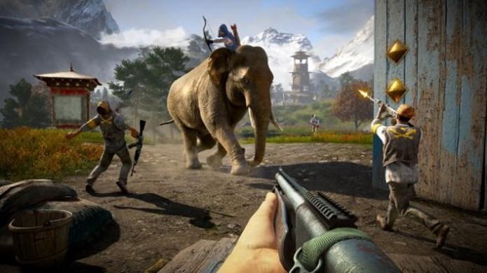 Cansado dos elefantes de Far Cry 4? Experimente o novo veículo Dune Buggy (Foto: Gamranx)
