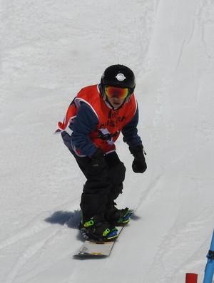 Campeonato Brasileiro de Snowboard - nova geração Chile Corralco (Foto: Thierry Gozzer)