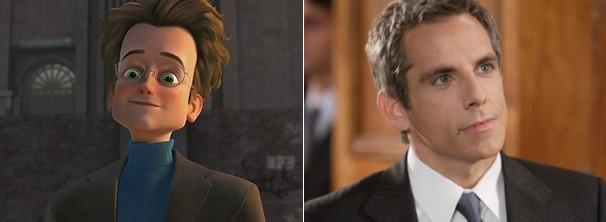 Ben Stiller dubla Bernard (Foto: Divulgação / Reprodução)