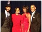 Alicia Keys posa com família Obama: 'Ontem foi espetacular!'