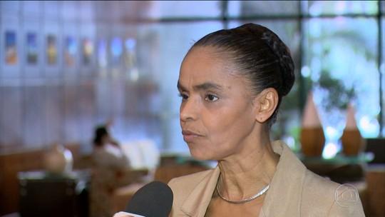 Marina Silva nega 'caixa dois' em campanha durante visita ao ES