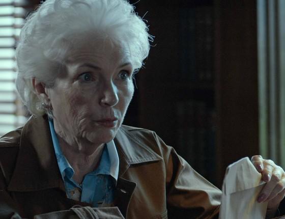 Fionnula Flanagan em cena de Pequeno Segredo, que conta a história de Kat Schurmann (Foto: Divulgação)