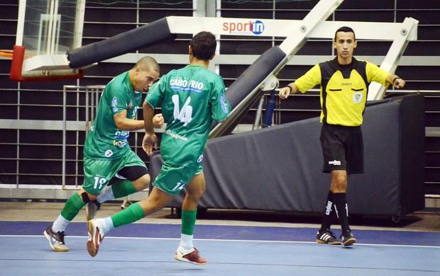ADDP/Cabo Frio conseguiu um bom resultado diante do Botafogo (Foto: Léo Borges)