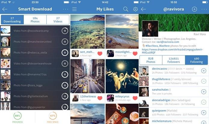 Gerencia uma ou mais contas do Instagram com o Phonegram (Foto: Divulgação/AppStore)