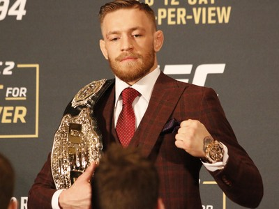 Conor McGregor; UFC 194 (Foto: Evelyn Rodrigues)