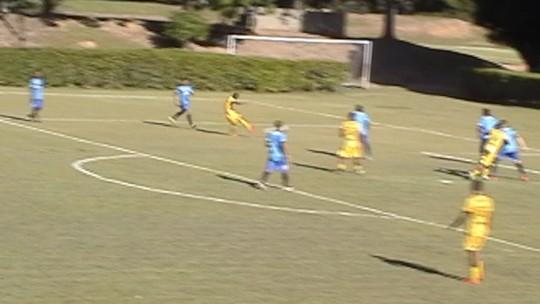 Com elástico, caneta e golaço, Rio Branco goleia o Santão em jogo-treino