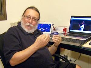 Ricardo Molina contesta reconstituição da morte de Daleste (Foto: Reprodução/EPTV)