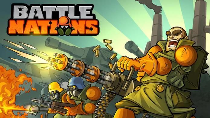 Com uma versão recém-disponibilizada para PCs, Battle Nations é um famoso game de simulação e estratégia para iOS e Android (Foto: Divulgação/ Z2)