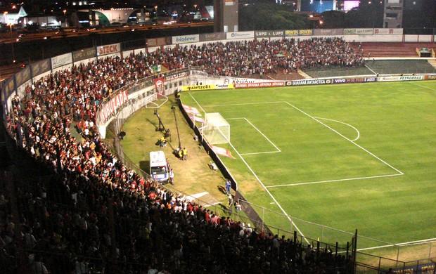 Torcida do Flamengo- Portuguesa e Flamengo (Foto: Daniel Romeu / Globoesporte.com)