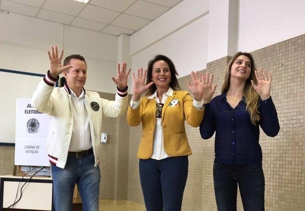 Celso Russomanno vota em São Paulo (Foto: Reprodução/Facebook)