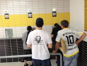 torcida, criciúma, tigre, heriberto hülse, ingressos, flamengo, jogo, série a,  (Foto: João Lucas Cardoso )