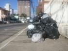 Greve de motoristas afeta coleta de lixo na Grande Florianópolis