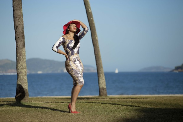 Mulher Moranguinho (Foto: Marcos Mello)