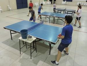 Tênis de Mesa de Álvares Machado (Foto: João Paulo Tilio / GloboEsporte.com)