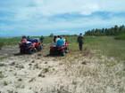 Ação ambiental apreende veículos em praias do litoral norte de Alagoas