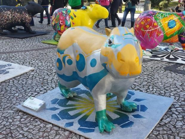 Capi Parade vai até domingo (12)  (Foto: Alana Fonseca/G1)