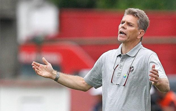 Paulo Autuori jogo Vasco Olaria (Foto: Wagner Meier / Agif / Agência Estado)
