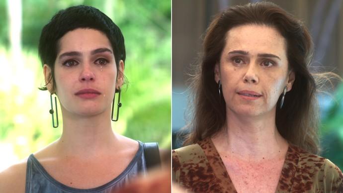 Cidália revela a Flavia sua história de vida (Foto: TV Globo)