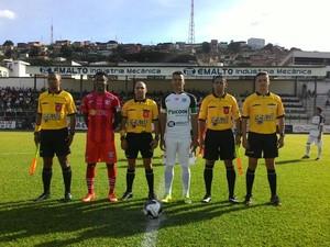 Social enfrentou o Guarani na tarde deste sábado (Foto: Federação Mineira de Futebol/Divulgação)