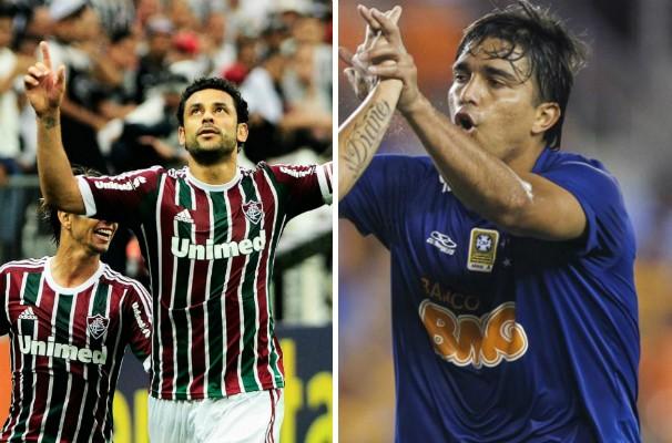 Confronto entre as duas grande equipes brasileira é neste domingo pelo Brasileirão. (Foto: Montagem/GE Grande Minas)