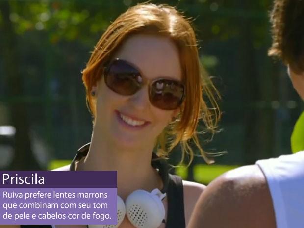 Priscila (Foto: Amor Eterno Amor/TV Globo)
