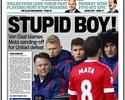 "Após expulsão, Juan Mata vira alvo da imprensa inglesa: ""Garoto estúpido"""