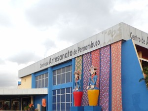 Centro de Artesanato tem mais de 12 mil metros quadrados (Foto: Divulgação/ Ascom Prefeitura de Bezerros)