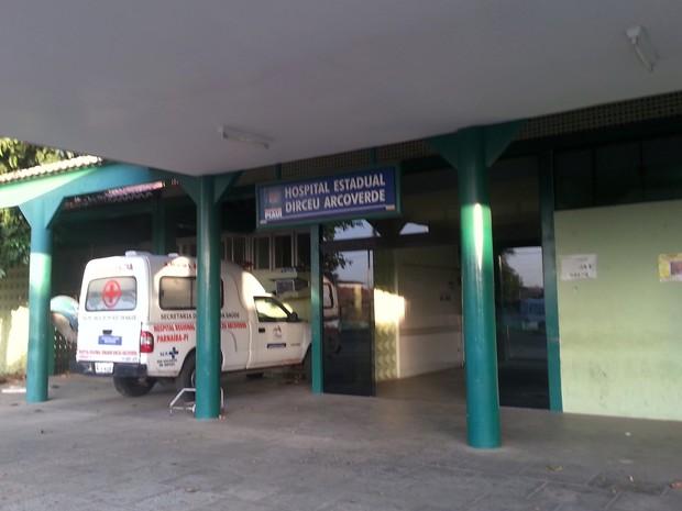 Hospital deixou de receber pacientes com a paralisação dos médicos (Foto: Patrícia Andrade/G1)