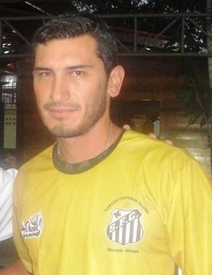 Hector Vasques, jogador uruguaio do Santos-AP (Foto: Globoesporte.com)