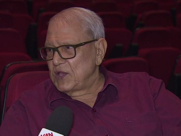 Humorista Ary Toledo recebeu alta de hospital nesta terça (13) (Foto: Reprodução: TV Vanguarda)