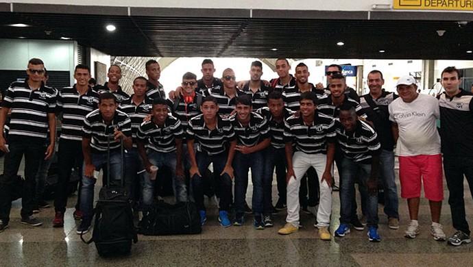 Ceará embarcou para São Paulo na última quinta-feira (Foto: Divulgação / Cearasc.com)