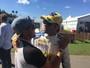 Mineirinho visita Felipe Nasr no GP da Austrália antes da abertura em Bells