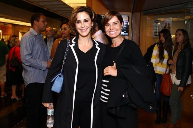 Guilhermina Guinle e Paula Burlamaqui (Foto: Raphael Mesquita/FotoRio News)