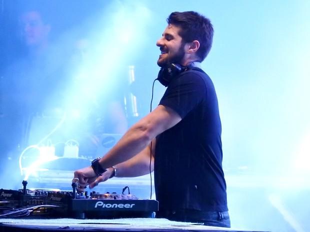 O DJ Alok animou a festa (Foto: Ive Rylo / G1 AM)