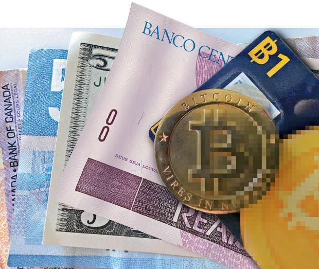 É COISA SÉRIA Uma moeda física de bitcoin, feita de brincadeira pelo engenheiro Mike Caldwell. A moeda virtual atrai hoje estudiosos, especuladores e consumidores (Foto: ©www.flickr.com/zcopley)