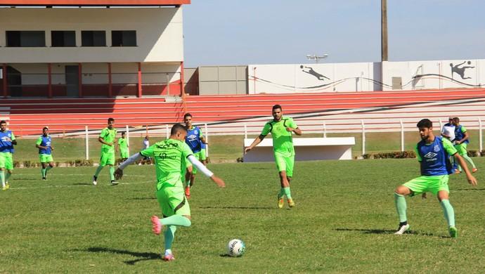 Sinop, treinos, 2016 (Foto: Valcir Pereira/Site SportSinop.com)