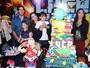 Kaká e Carol Celico comemoram o aniversário do filho Luca, em SP