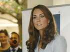 Kate Middleton faz primeiro discurso oficial no exterior