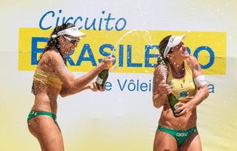 Já campeãs brasileiras, Larissa e Talita levam título da etapa de Fortaleza-CE