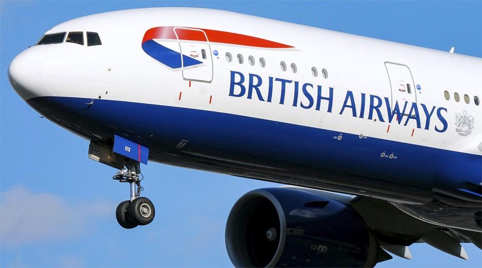 Avião da British Airways: falha causou confusão em aeroportos (Foto: Reprodução)