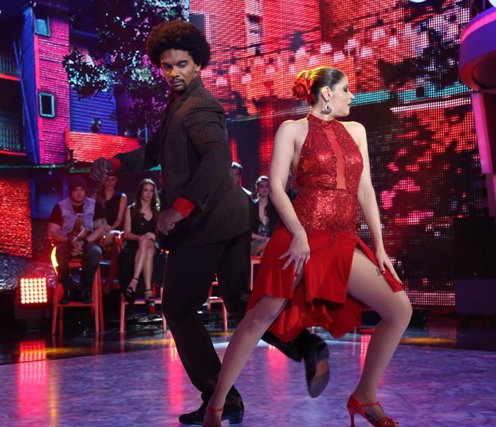 Mariana Santos e Marcus Lobo no Tango (Foto: Carol Caminha/ Gshow)