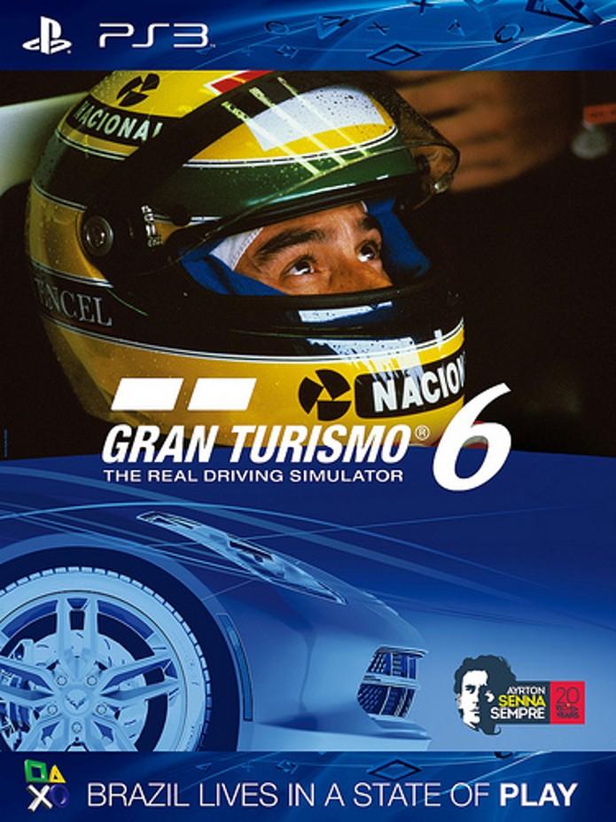 Homenagem da série ao piloto brasileiro Ayrton Senna (Foto: Divulgação)