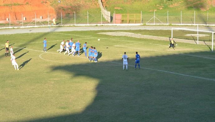 Ecus x Mauaense Campeonato Paulista Segunda Divisão (Foto: Cairo Oliveira)