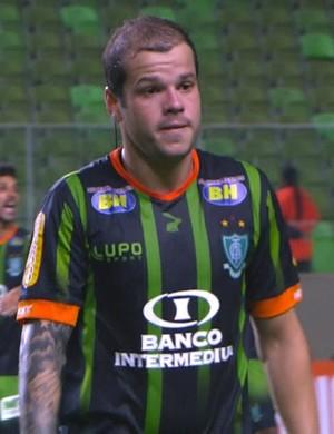 América-MG e Vitória; Tiago Luis  (Foto: Reprodução Premiere)