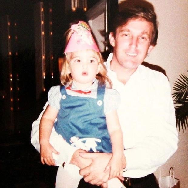 Ivanka e o pai, Donald Trump (Foto: reprodução/instagram)