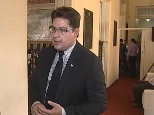 Procurador-geral da Câmara Municipal, Rodrigo Souto (Foto: Reprodução/TV Integração)