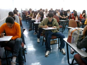 Enem prova Ag Brasil (Foto: Arquivo / ABr)