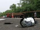 Motorista morre ao bater carro de frente com caminhão em Tietê