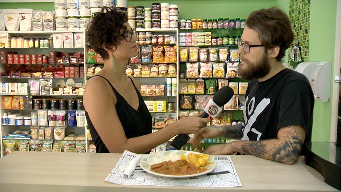 Bateu a fome? Que tal um prato vegetariano? (Foto: Divulgação / TV Gazeta ES)