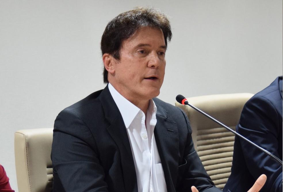 Robinson Faria (PSD), governador do Rio Grande do Norte (Foto: Thyago Macedo/G1)